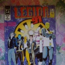 Cómics: LEGION 91 Nº 9 EDICIONES ZINCO DC COMICS. Lote 172266129
