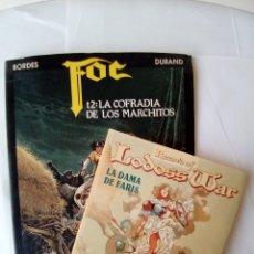 Cómics: LOTE 2 COMICS FOC T2: LA COFRADIA DE LOS MARCHITOS-RECORD OF LODOSS WAR LA DAMA DE FARIS. Lote 172316544