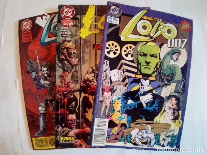 LOTE DE 3 COMICS LOBO VER FOTOS (Tebeos y Comics - Zinco - Lobo)