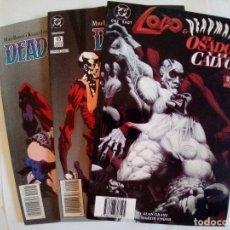 Cómics: LOTE DE 3 COMICS LOBO Y DEADMAN VER FOTOS. Lote 172320429