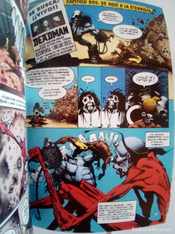 Cómics: LOTE DE 3 COMICS LOBO Y DEADMAN VER FOTOS - Foto 5 - 172320429