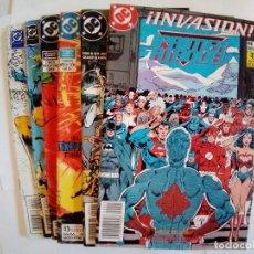 Cómics: LOTE DE 6 COMICS DC ZINCO VARIADO VER FOTOS. Lote 172321490