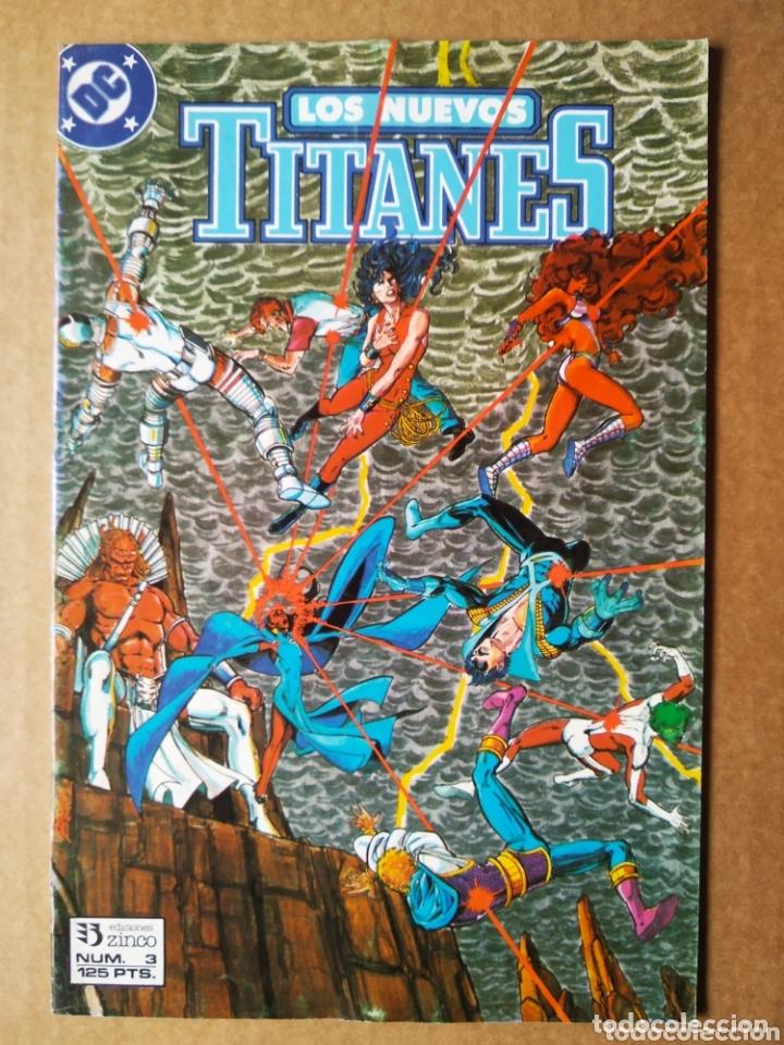 Cómics: Lote Los Nuevos Titanes, números 3-13-21-22-28-29-37-38-39-41. Ediciones Zinco - Foto 6 - 90960530