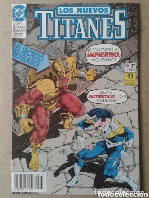 Cómics: Lote Los Nuevos Titanes, números 3-13-21-22-28-29-37-38-39-41. Ediciones Zinco - Foto 8 - 90960530