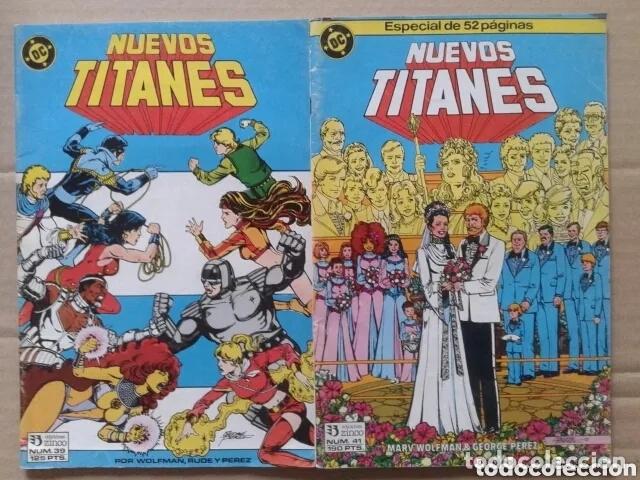 Cómics: Lote Los Nuevos Titanes, números 3-13-21-22-28-29-37-38-39-41. Ediciones Zinco - Foto 9 - 90960530