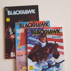 Cómics: DC COMICS - BLACKHAWK DE HOWARD CHAYKIN COMPLETA TRES LIBROS EDICIONES ZINCO 1989. Lote 172405194