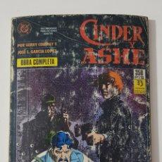 Cómics: DC COMICS - CINDER Y ASHE RETAPADO OBRA COMPLETA EDICIONES ZINCO 1989. Lote 172425562