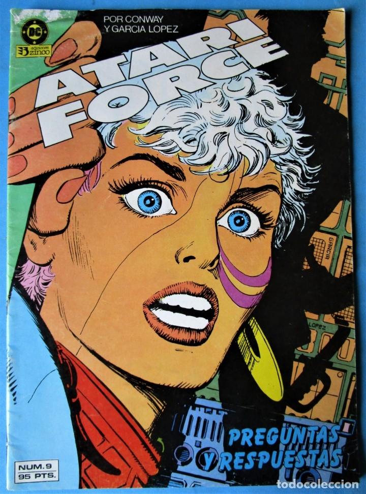 ATARI FORCE Nº 9 (GERRY CONWAY, J,.L. GARCÍA LÓPEZ) EDICIONES ZINCO 1984 (Tebeos y Comics - Zinco - Otros)