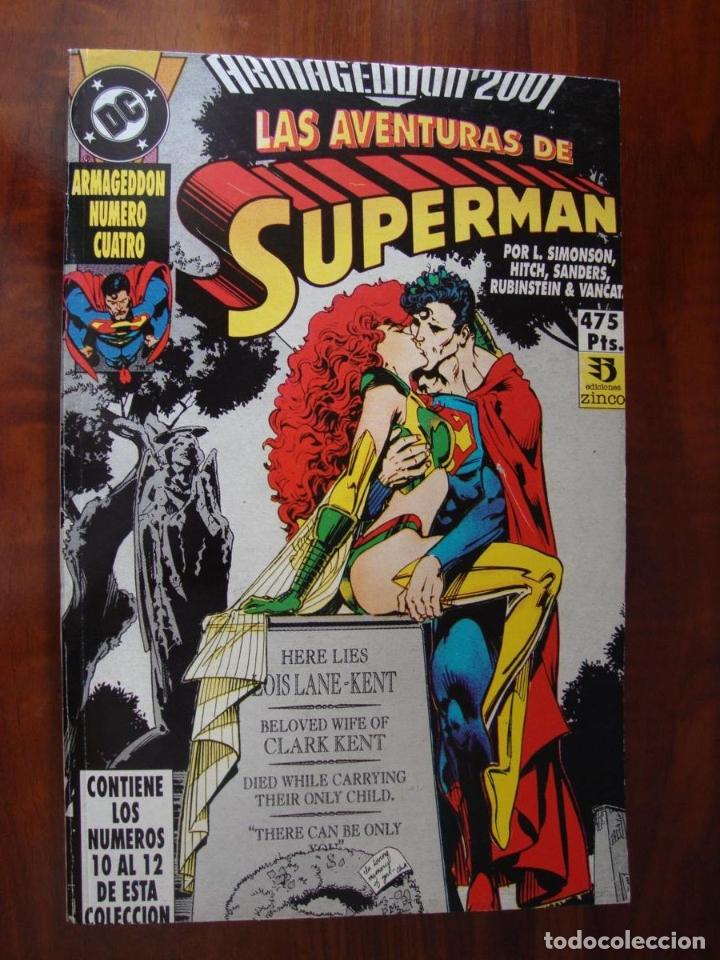 ARMAGEDDON 2001 10-12 (Tebeos y Comics - Zinco - Retapados)