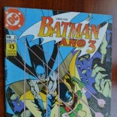 Cómics: BATMAN AÑO 3 2. Lote 172436138