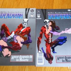Cómics: DEADMAN 1-2. Lote 172440210