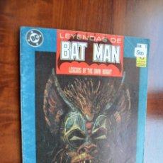 Cómics: LEYENDAS DE BATMAN 1. Lote 172443729