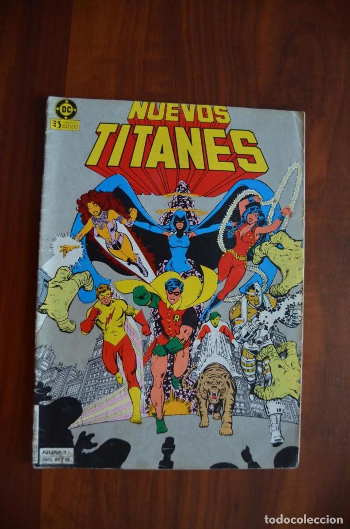 NUEVOS TITANES (VOL 1) 1 (Tebeos y Comics - Zinco - Nuevos Titanes)