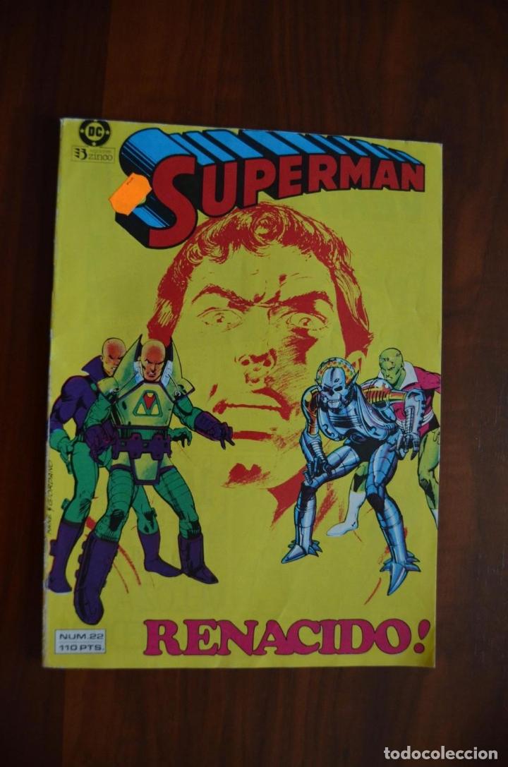 SUPERMAN (VOL 1) 22 (Tebeos y Comics - Zinco - Superman)