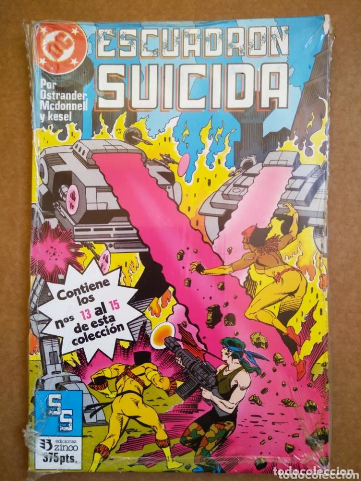 RETAPADO ESCUADRÓN SUICIDA (EDICIONES ZINCO). NÚMEROS 13-14-15. PRECINTADO. (Tebeos y Comics - Zinco - Retapados)
