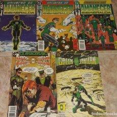 Cómics: GREEN LANTERN AMANECER ESMERALDA Nº 29 30 Y 31 + Nº 23 + CLASICOS DC N 8 GREEN LANTERN Y GREEN ARROW. Lote 172629599
