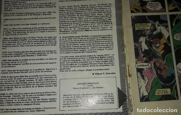 Cómics: GREEN LANTERN AMANECER ESMERALDA Nº 29 30 y 31 + Nº 23 + CLASICOS DC N 8 GREEN LANTERN Y GREEN ARROW - Foto 2 - 172629599