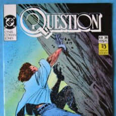 Comics: QUESTION Nº 36 - EDICIONES ZINCO ''BUEN ESTADO''. Lote 172799634