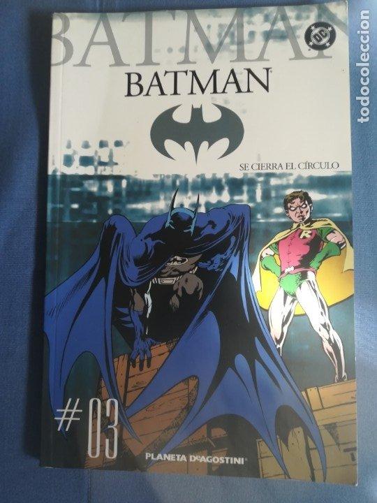 BATMAN COLECCIONABLE PLANETA DE AGOSTINI 2005. 3 (Tebeos y Comics - Zinco - Batman)