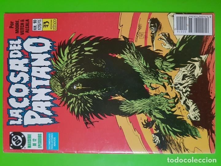LA COSA DEL PANTANO Nº 10 ALAN MOORE FORMATO GRAPA (Tebeos y Comics - Zinco - Cosa del Pantano)