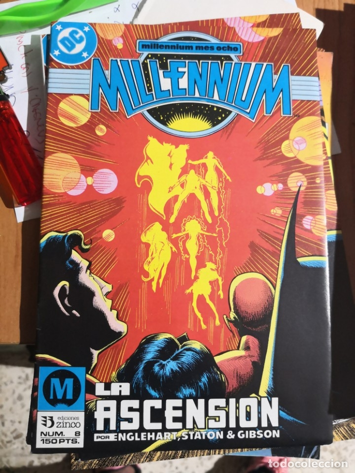 COMIC MILLENNIUM Nº 8 DC ZINCO (Tebeos y Comics - Zinco - Otros)