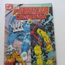 Cómics: LA PATRULLA CONDENADA Nº 11 - ZINCO. CX17. Lote 173021565