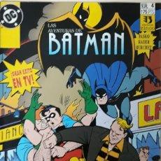Cómics: LAS AVENTURAS DE BATMAN. Nº 4. EXITO EN TV. EDICIONES ZINCO.. Lote 173063889