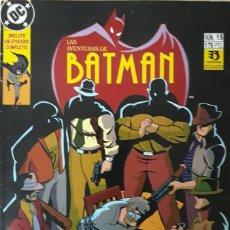 Cómics: LAS AVENTURAS DE BATMAN. Nº 15. EXITO EN TV. EDICIONES ZINCO.. Lote 173064095