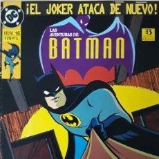 Cómics: LAS AVENTURAS DE BATMAN. Nº 16. EXITO EN TV. EDICIONES ZINCO.. Lote 173064140