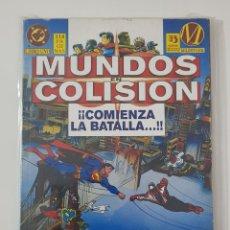 Cómics: DC COMICS - MUNDOS EN COLISIÓN LIBRO UNO SUPERMAN MILESTONE 1995 EDICIONES ZINCO. Lote 173191889