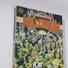Cómics: DC COMICS - MILLENIUM COMPLETA 8 NÚMEROS EDICIONES ZINCO 1987. Lote 173193295