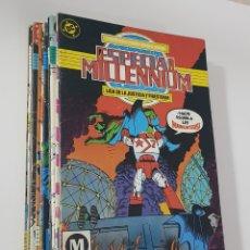 Cómics: DC COMICS - ESPECIAL MILLENIUM COMPLETA 12 NÚMEROS EDICIONES ZINCO 1987. Lote 173193372