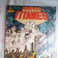 Cómics: NUEVOS TITANES - Nº 25 -¡LLAMADLES FUGITIVOS!-1986-GRAN GEORGE PEREZ-BUENO-DIFÍCIL-LEAN-5540. Lote 288483653
