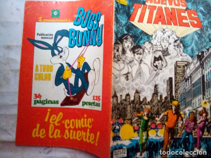 Cómics: NUEVOS TITANES - Nº 25 -¡LLAMADLES FUGITIVOS!-1986-GRAN GEORGE PEREZ-BUENO-DIFÍCIL-LEAN-5540 - Foto 2 - 288483653
