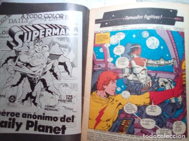 Cómics: NUEVOS TITANES - Nº 25 -¡LLAMADLES FUGITIVOS!-1986-GRAN GEORGE PEREZ-BUENO-DIFÍCIL-LEAN-5540 - Foto 3 - 288483653