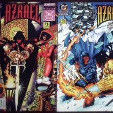 Comics: AZRAEL ÁNGEL CAÍDO. CÓMIC DE LOMO Nº 1 Y 2 (COMPLETA) IMPECABLE, CON FUNDAS PROTECTORAS ESPECIALES.. Lote 173480309
