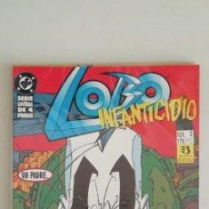Comics: LOBO INFANTICIDIO 4 NUMS. COMPLETA. Lote 188552622