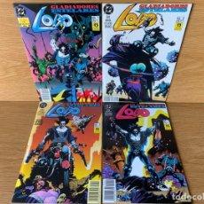 Comics: LOBO: GLADIADORES ESTELARES 4 Nº'S COMPLETA. ZINCO. Lote 188758282