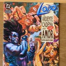 Comics: LOBO ARDIENTE CADENA DEL AMOR ( ALAN GRANT GIFFEN ) ZINCO DC. Lote 188758385