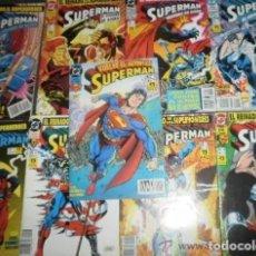 Cómics: SUPERMAN EL HOMBRE DE ACERO (1 2 3 Y 5 ) EL REGRESO DE SUPERMAN 1 AL 5. D.DE LA MUERTE DE SUPERMAN. Lote 173891748