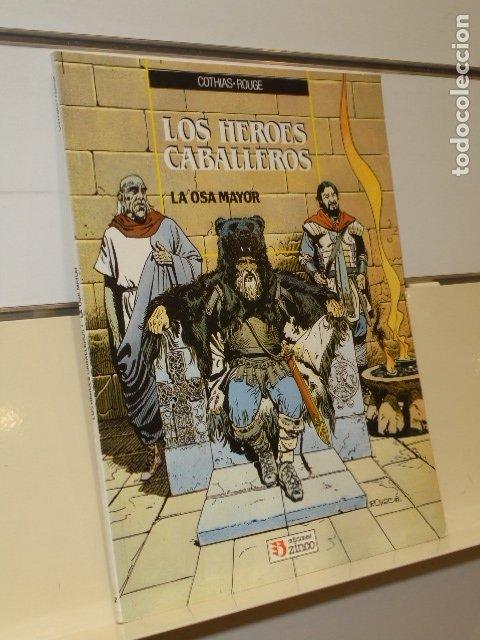 LOS HEROES CABALLEROS LA OSA MAYOR COTHIAS Y ROUGE - ZINCO - OFERTA (Tebeos y Comics - Zinco - Otros)