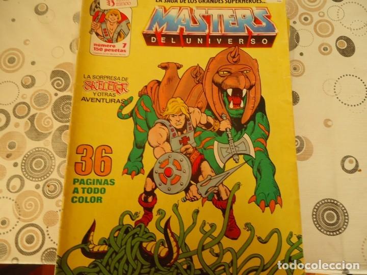 MASTERS DEL UNIVERSO Nº 7 (Tebeos y Comics - Zinco - Otros)