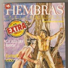 Cómics: HEMBRAS PELIGROSAS - EXTRA Nº 2 - RELATOS PARA ADULTOS - COMIC EROTICO - ED ZINCO S.A - 100PP -2-. Lote 221565041
