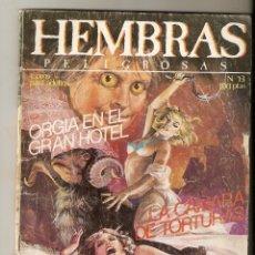 Cómics: HEMBRAS PELIGROSAS - Nº 13 - RELATOS PARA ADULTOS - COMIC EROTICO - ED ZINCO S.A - 66PP -. Lote 174294367