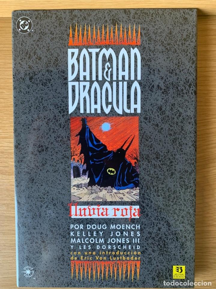 BATMAN & DRÁCULA. LLUVIA ROJA. DOUG MOENCH. EDICIONES ZINCO (Tebeos y Comics - Zinco - Prestiges y Tomos)