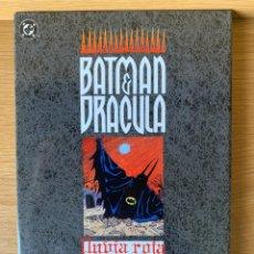 Cómics: BATMAN & DRÁCULA. LLUVIA ROJA. DOUG MOENCH. EDICIONES ZINCO. Lote 174368134