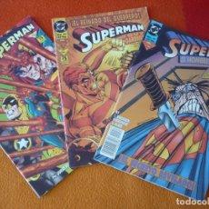 Cómics: SUPERMAN EL HOMBRE DE ACERO NºS 31, 32 Y 33 ( LOUISE SIMONSON ) ¡BUEN ESTADO! DC ZINCO 1995. Lote 174377805