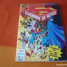 Cómics: SUPERMAN EL HOMBRE DE ACERO NºS 1 AL 5 RETAPADO 9 ( BYRNE GIORDANO ) DC ZINCO. Lote 174388878