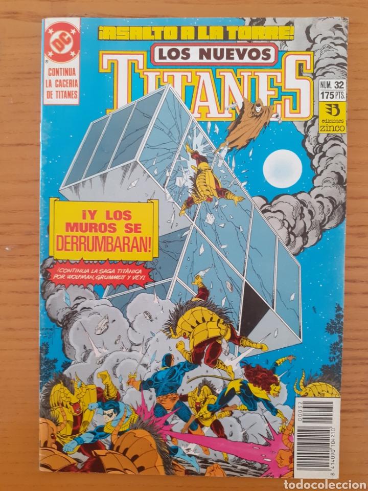 Cómics: Los Nuevos Titanes. N⁰s 32 y 39. - Foto 2 - 174437248