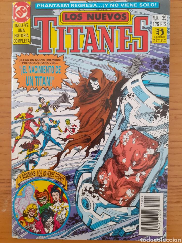 Cómics: Los Nuevos Titanes. N⁰s 32 y 39. - Foto 3 - 174437248